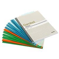 Gambol 渡边 无线装订笔记本 G5407(A5、40页、12本/包)