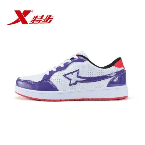 XTEP 特步 男鞋鞋春夏时尚潮流休闲鞋透气男滑板鞋