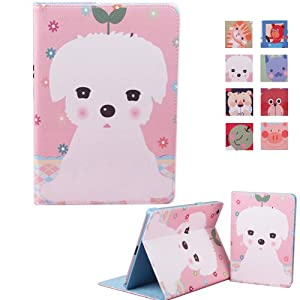 gxi 小清新苹果ipad mini2 保护套ipad mini超薄可爱小动物皮套 (白色