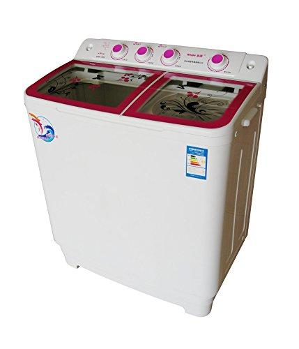 Haipu 海普 XPB95-888S/波轮/半自动/9.5kg/双缸双桶/洗衣机 粉红色-图片