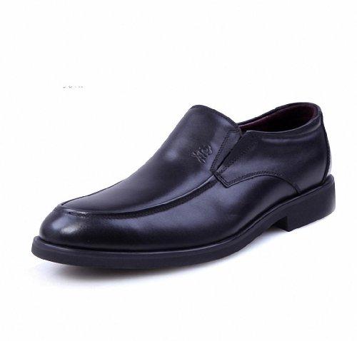 Montagut 梦特娇 秋季款 休闲商务 正装皮鞋 真皮男士皮鞋 专柜