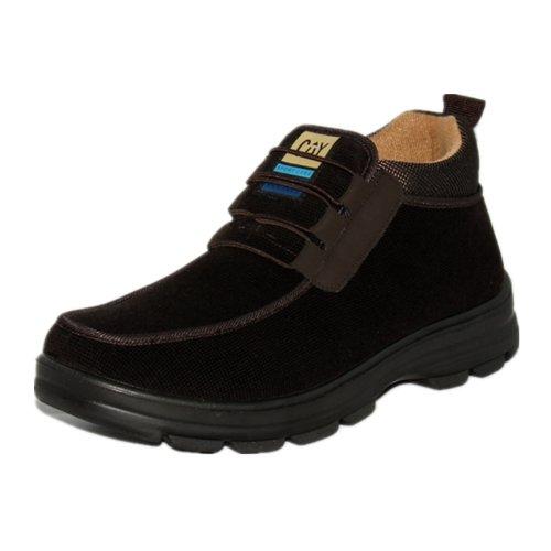 玉兰 货到付款老北京布鞋 冬款软领超轻底男棉靴1616-94