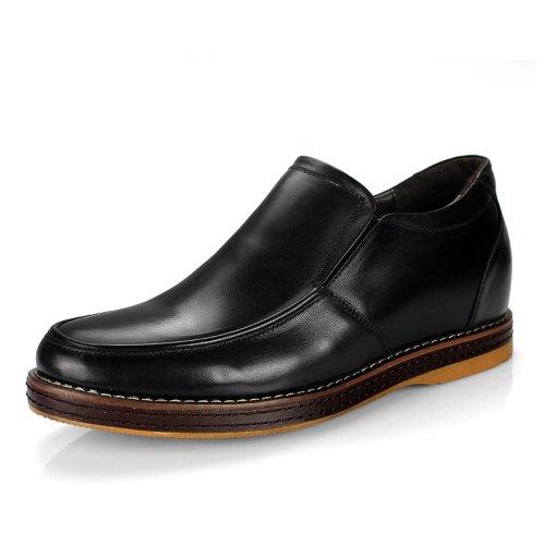 Gog 高哥 内增高鞋 男式日常休闲鞋 头层牛皮韩版男式鞋男款内增高皮鞋