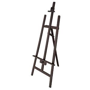 京潮港 后撑灰色油画架子木质画板广告展架子 美术用品 广告架