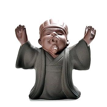 尚言坊 SCC057-4 茶宠摆件 三国典藏孔明借东风