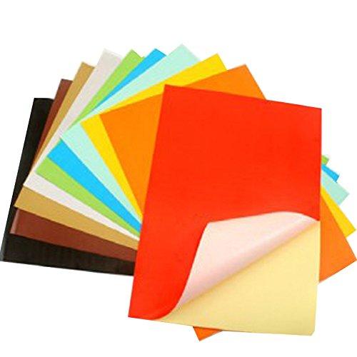 七色花 幼教幼儿园diy手工美术创意制作材料背胶彩色卡纸折纸40011