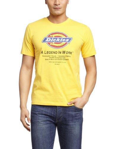 Dickies 男式 休闲系列 LOGO针织T恤衫 911025