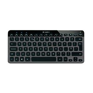 """罗技K810蓝牙炫光键盘$49.99,亮点是<span style=""""color: #ff0000;""""><strong>平板电脑按键随意切换</strong></span>"""