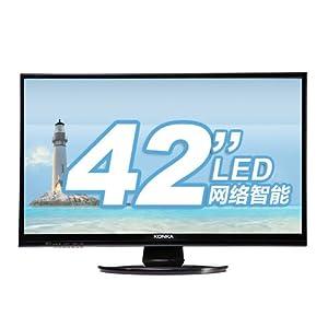 KONKA 康佳LED42E320N 42英寸窄边框超薄网络智能LED电视 ¥ 2,498.00