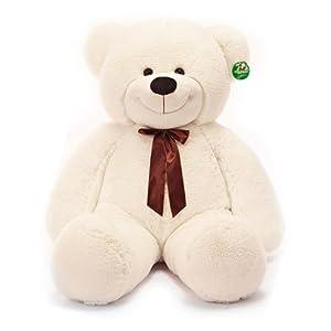 抱抱熊泰迪熊毛绒玩具熊大号可爱布娃娃公仔