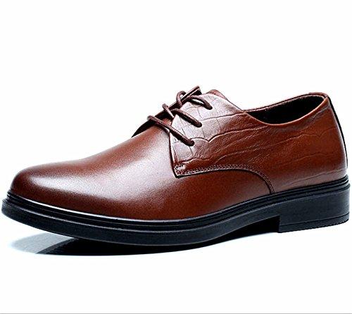 FGN 富贵鸟 高贵时尚商务休闲皮鞋 低帮正装皮鞋 男士皮鞋 休闲鞋 新款系带皮鞋 四季鞋男鞋
