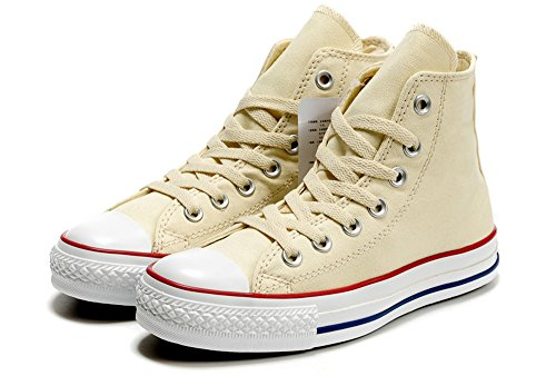 Converse 匡威 经典款 中性 米色高帮 帆布鞋 1Z597