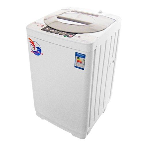 Haipu 海普 XQB60-6055H/洗衣机/波轮/全自动/6kg/钻石不锈钢内桶 炫星-黑色-图片