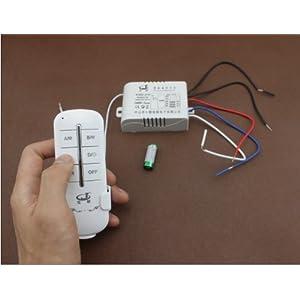 无线遥控开关220v二路电灯遥控开关 灯具遥控电源开关
