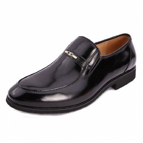 Montagut 梦特娇 男鞋 专柜 2013秋季新款时尚套脚真皮商务正装皮鞋