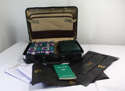 金城坚扑克桥牌用品密码箱礼品装整套:亚马逊
