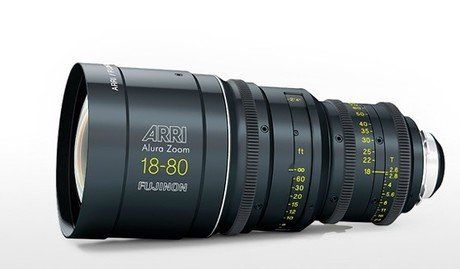 arri/fujinon alura zoom 电影变焦镜头 18-80mm