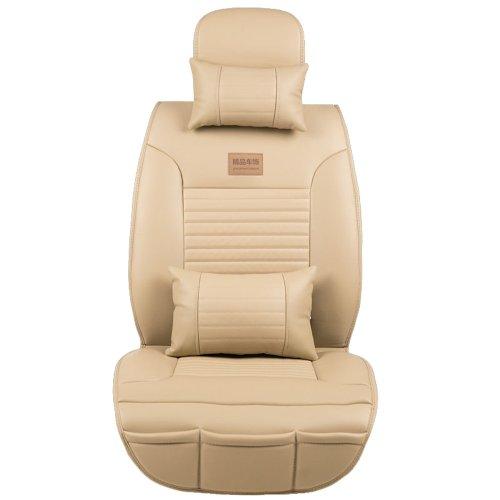 MR.MA马先生汽车坐垫四季新款 通用皮革座垫座套福克斯科鲁兹 帕萨特凯越汽车用品 (魅影米)-图片