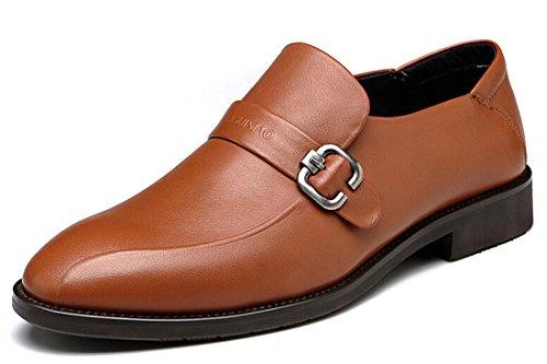 FGN 富贵鸟 新款男鞋 男士头层牛皮商务皮鞋 英伦时尚潮流男鞋 韩版休闲男鞋