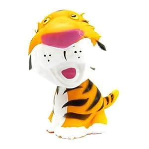 可爱卡通森林动物野生模型玩具狮子公仔老虎