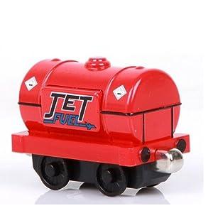 汇乐 合金磁性托马斯小火车玩具 高登亨利爱德华詹姆士艾米丽 拖箱