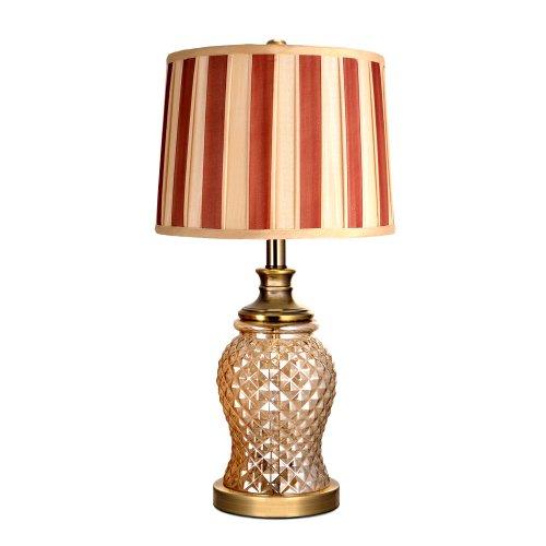 心主张卧室创意台灯床头灯欧式客厅水晶玻璃时尚奢华菠萝形 w0071图片