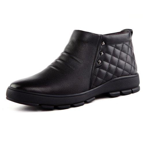 Tony Johnson/托尼琼斯 冬季新品真皮舒适保暖中帮男式皮靴 D7563408