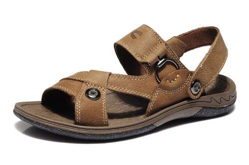Camel Active 骆驼动感 德国骆驼夏季日常休闲沙滩凉鞋真皮男鞋 6A839