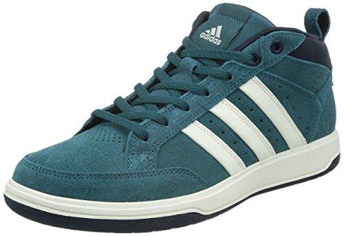 adidas 阿迪达斯 TENNIS CULTURE 男 网球鞋oracle VI STR mid Suede  S41875 VIRIDIAN F15/粉白/深藏青蓝 41 (UK 7-)