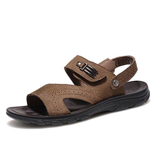 Camel Active骆驼动感2015新款男士凉鞋夏季真皮沙滩鞋皮凉鞋露趾凉鞋潮男鞋80542