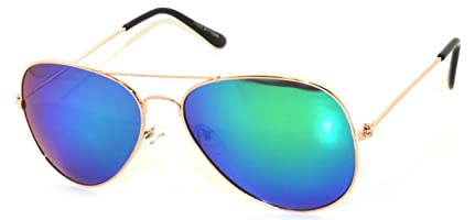 gold aviator ray bans  aviator full mirror lens