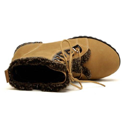 camel 骆驼 女鞋 雪地休闲女靴