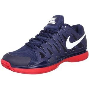 NIKE 耐克 Vapor 9 Tour 费德勒2012美网 夜场 网球鞋 48000-410