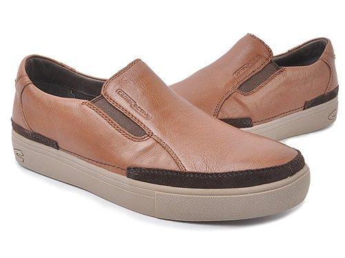 Camel Active 骆驼动感 舒适套脚深棕商务休闲鞋 男 男休闲鞋 189103143深棕 brown
