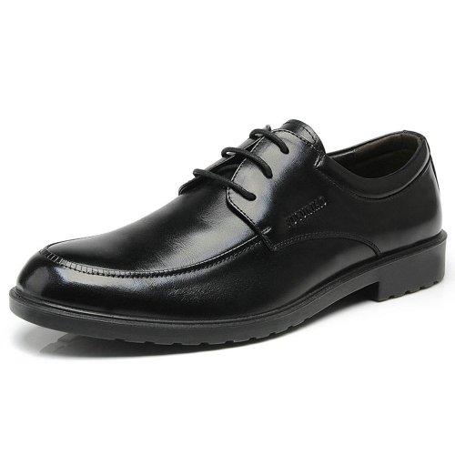 FGN 富贵鸟 新男士商务正装头层牛皮英伦休闲皮鞋真皮男鞋