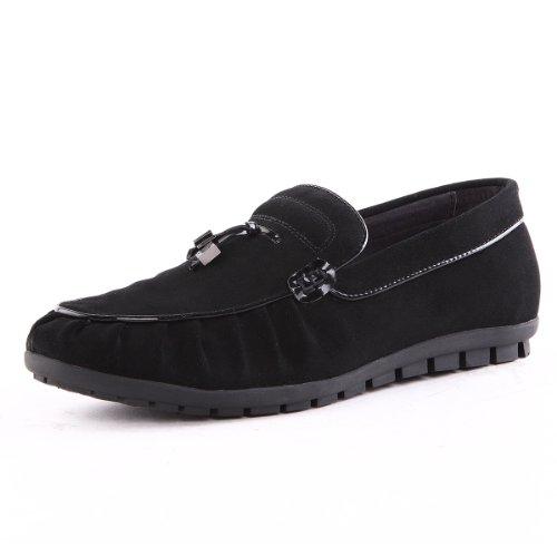 Tony Johnson/托尼琼斯 秋季新品磨砂牛皮套脚休闲懒人鞋男鞋 Q8563228