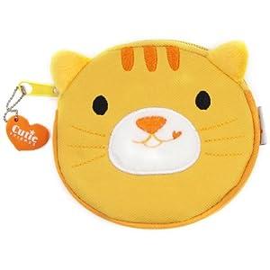 动物造型零钱包-黄猫