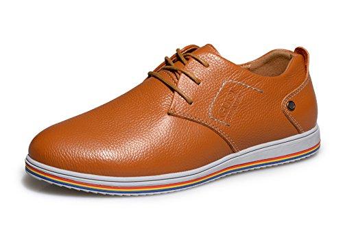 Guciheaven 韩版英伦时尚男鞋 头层牛皮男鞋 休闲板鞋 男士商务休闲鞋 低帮男鞋 男士帆船鞋