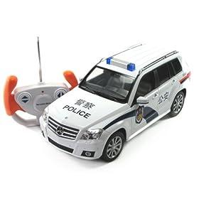 rastar星辉遥控车模1 14奔驰glk class警车31910 高清图片