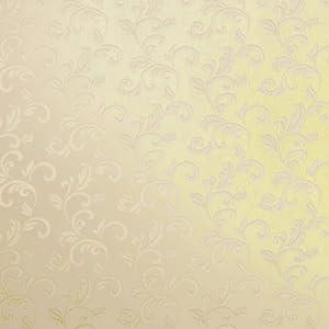 爱我品墙纸 欧式金色大花 无纺布壁纸 客厅背景墙 卧室浮雕墙纸 vg3