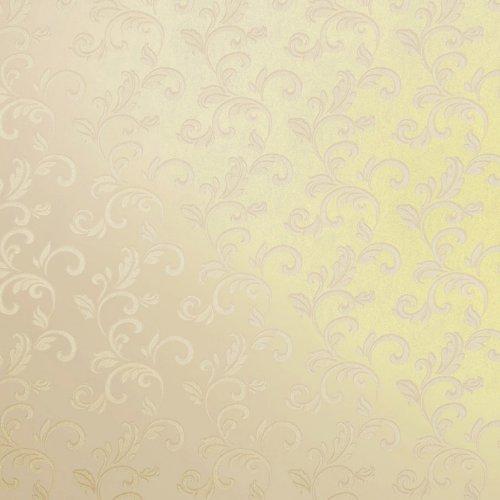 爱我品墙纸 欧式金色大花 无纺布壁纸 客厅背景墙 卧室浮雕墙纸 vg