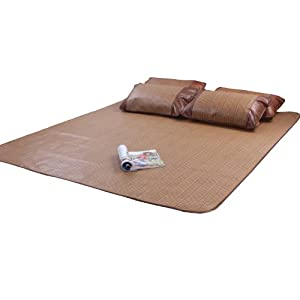 【喜尚喜】床上用品 凉席 席子 1.8米 藤席三件套 新品 清凉爽藤席