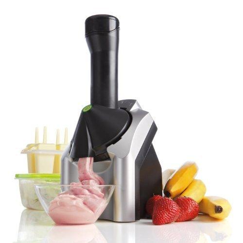 Dole Yonanas都乐冰激凌机979 (水果甜品机 水果冰淇淋机 自动冰淇淋机 雪糕机 浅灰色41cm)-图片