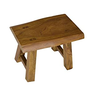 现货出口韩国仿古家用老榆木小板凳实木方形坐凳花盆架凳子创意凳图片