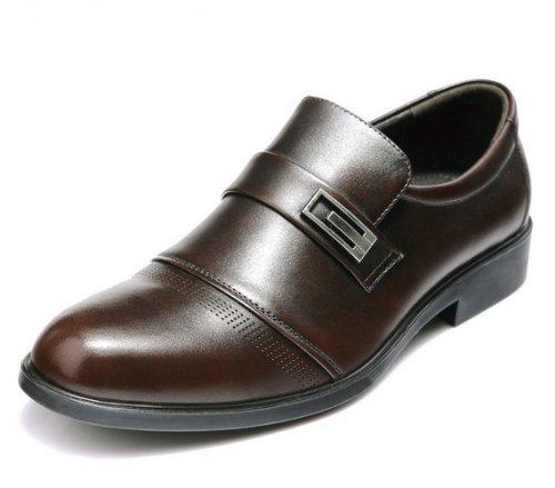 FGN 富贵鸟 2013秋季商务正装鞋英伦低帮鞋真皮皮鞋