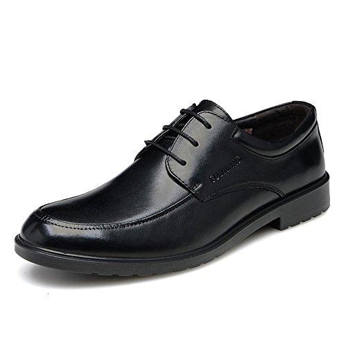 FGN 富贵鸟 春季 男式商务休闲鞋皮鞋男士正装鞋低帮鞋英伦潮系带驾车鞋 B7582