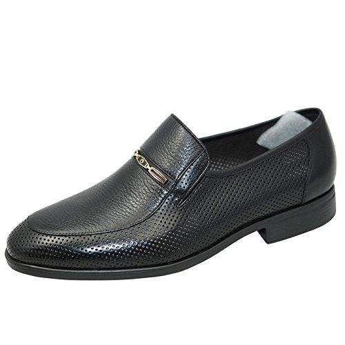 金利来男鞋2015夏款商务正装男士套脚凉鞋182520066AAD