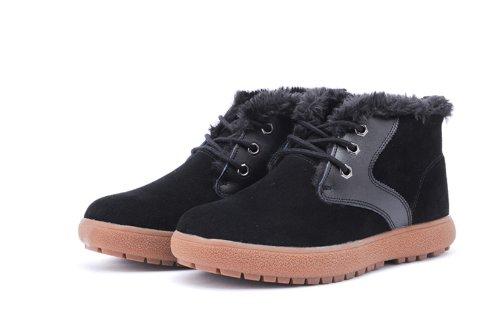 IVG 秋冬新款 男士短靴 棉靴 休闲时尚雪地靴 户外运动保暖靴