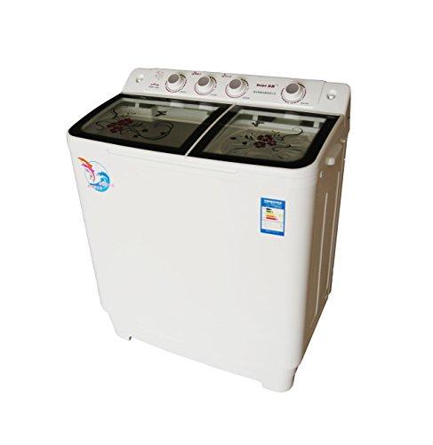 Haipu 海普 XPB95-888S/波轮/半自动/9.5kg/双缸双桶/洗衣机 黑色-图片