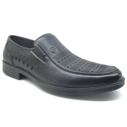 Goldlion 金利来 2013夏 新款 正品 免邮 牛皮 英伦潮流 休闲 套脚 透气镂空 洞洞鞋 男 凉鞋